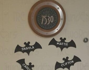 Personalized Mickey Bats