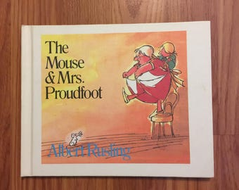 The Mouse & Mrs. Proudfoot, By Albert Rusling, HB, 1984