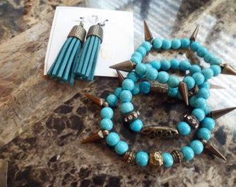 Women's 4 piece jewelry set