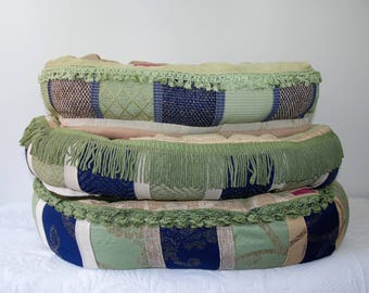 Dog's Bed Green Passamanterie Collection Medium Large