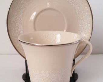 Gorham Bridal Bouquet Cup and Saucer