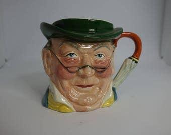 Mr Pickwick character mug by Sylvac