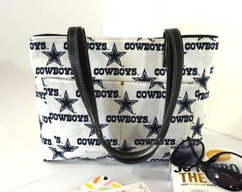 Custom NFL Handbag, NFL Custom Fan Gift, NFL Custom purse, Custom Shoulder Bag, Gift under 45
