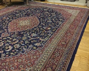 Now sold!!!wonderful vintage perisan wool rug extra large