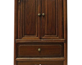 vintage chinese mini small chest cabinet with carving cs2837e