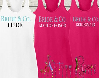 Ladies Racerback Racer Back Tank Dress Cover Up Coverup Monogrammed Bridal Party Cruise Beach Fun