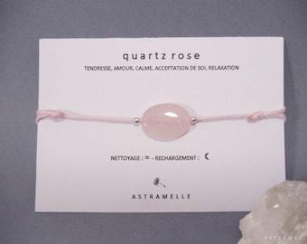 Bracelet rose Quartz treats