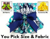 Female Dog Diaper - Dog Panties with skirt - Dog Potty Training Aid - house breaking - xx Small to 5X Large - CUSTOM ORDER
