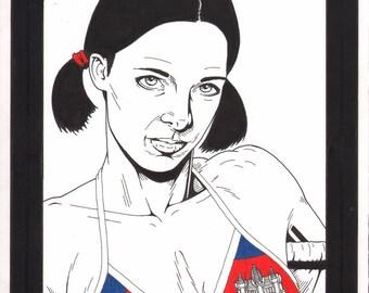 Lina in Cambodian Bikini