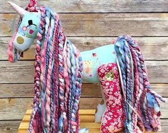 Easter pony easter gift stuffed pony girl gift horse unicorn stuffed animal animal unicorn kitty unicorn valentines gift girl horse gift negle Images