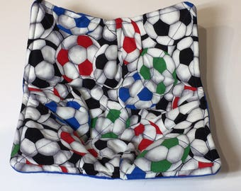 Soccer Themed Bowl Cozies