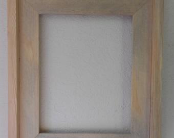 Unfinished Wood Frame: Farmhouse Style 8 x 10