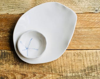 Tableware Accessories, Ceramic Bowl, Pottery Bowl,  Contemporary Pottery Bowl, Appetizer set,