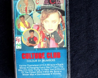 Culture Club- Colour By Numbers Cassette Tape 1983