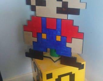 Mario warp zone side table