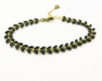 Fancy (black) BCFA10001 bracelet