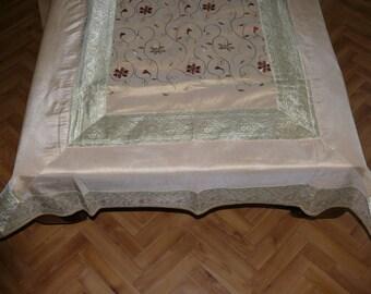 Oriental Tablecloth Decoration India 110 cm x 175 cm