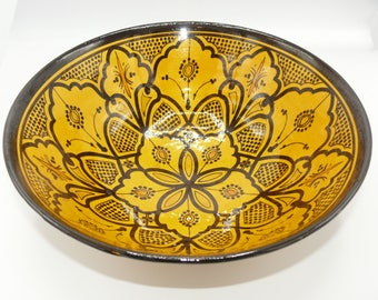 Moroccan Oriental ceramic dish bowl Fruit salad Cereal Ø 35 CM model Lilu