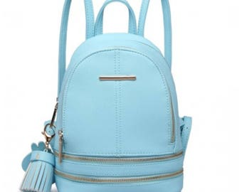 Small Backpack Blue