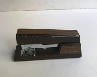 1960s Brown Swingline Stapler