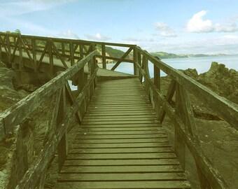 Beach Landscape, Paradise Decor, Blue Sea, Ocean Print, Blue Room Decor, Landscape Beach Fine Art Photography
