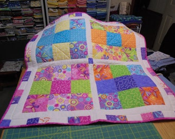 Bright and Cheerful Baby blanket