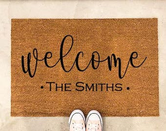 personalized gift-personalized door mat-door mat-door mats-custom door mat-welcome mat-cute welcome mat-cute door mat-personalized doormat