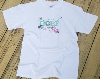 Embroidered Golf T-shirt