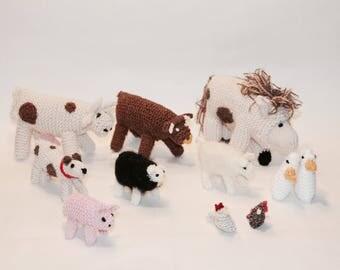 Knit Farm Animals