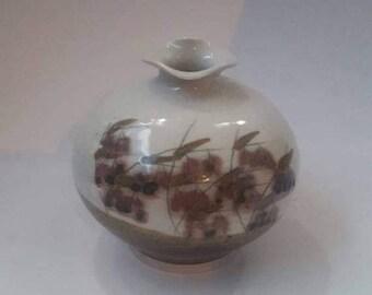 ON SALE Vintage Floral Vase