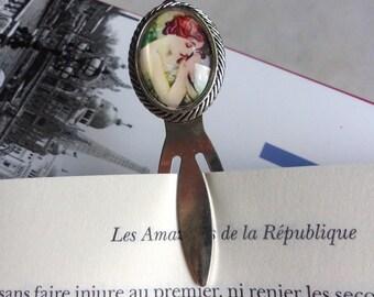 "Bookmark romantic ""young woman asleep"""