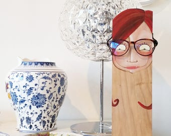 Glasses display, DILISA home decor, show for glasses