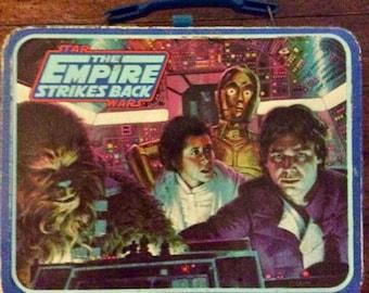Vintage Star Wars Empire Strikes Back Lunch Box