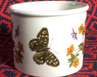 Portmeirion Botanic Garden bowl/Small Planter - Scarlett Pimpernel