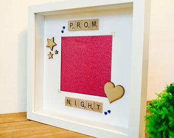 Prom Night Frame, Personalised Prom Night Frame, Best Prom Gift, Prom Night Present, Prom Night Frame, Prom Frame, Prom Gift, Gifts for Prom
