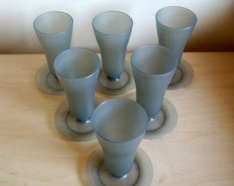 Vintage 1960's or 70's Tupperware sundae, parfait, jelly or dessert cups