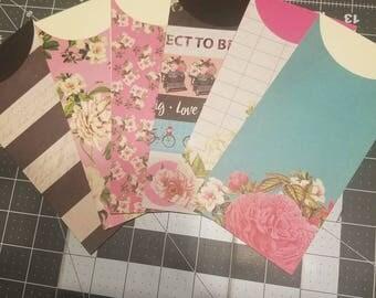Love Letters Cash Envelopes