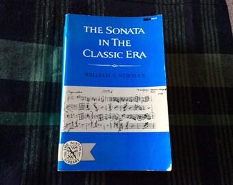 The Sonata in the Classic Era, 1972 Edition
