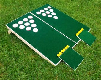 CHIP CUP - beer pong for golfers or non golfers- Lawn GAME. Get it before summer is over! Great for BBQs, parties, weddings, & cookouts