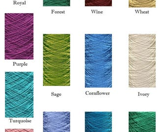 Gossamer Silk  100g cone 23 GBP  ~ new colours