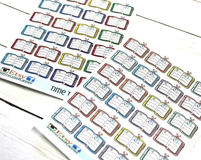Time to Plan Planner Stickers - Planning Day - Reminder Stickers - Functional Stickers - Planner stickers - Fits all Planners