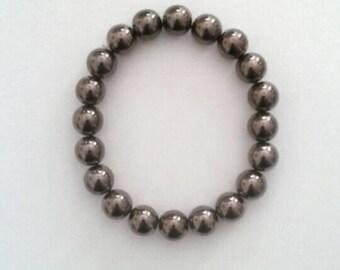 Metallic Black Bracelet