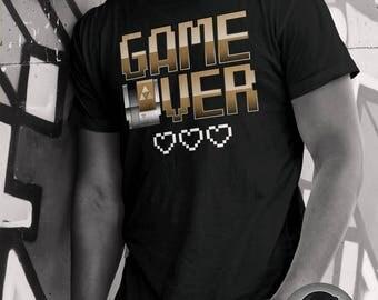 Game Over | Legend of Zelda | Nintendo | Unisex Men's | Ladies Slim Fit