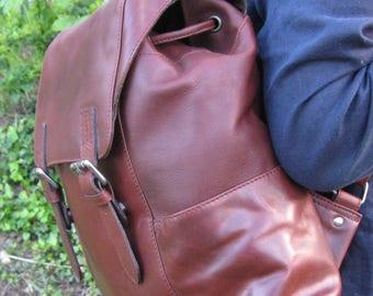Camden LeatherWorks Backpack