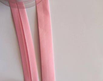 25mm bias tape - Pink 5m length
