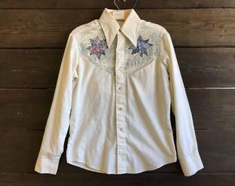 Vintage 70s Button-Up Shirt