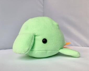 Blobfish cute kawaii plushie (green)