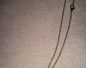 Handcrafted Alice in Wonderland key necklace