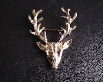 """Brooch """"deer"""""""