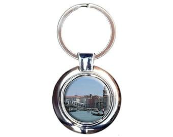 Rialto Bridge Venice Italy Keychain Key Ring